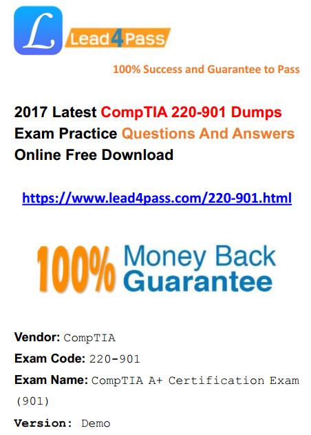 220-901 dumps