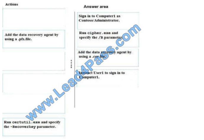 examscode 70-744 q8-1